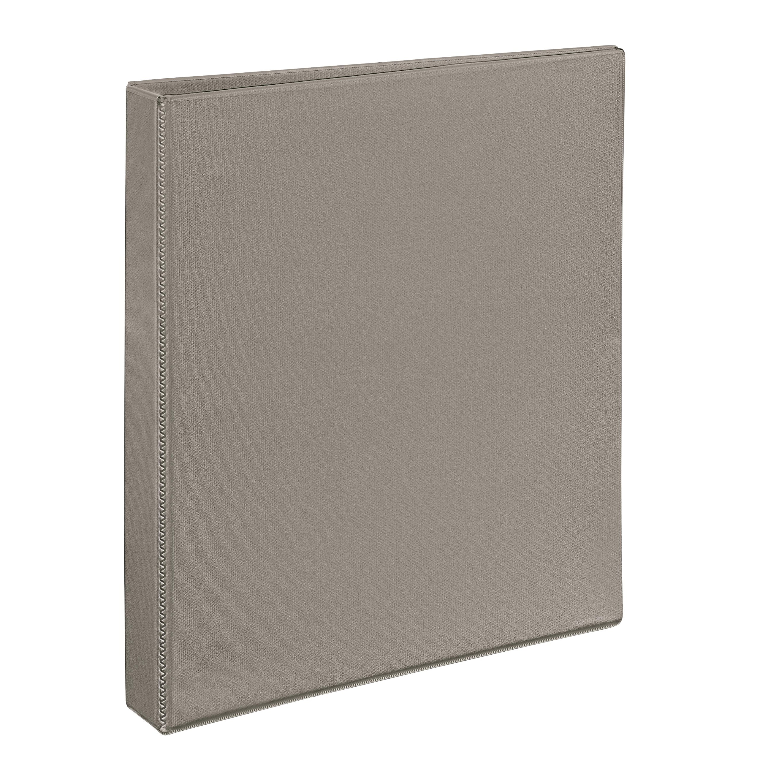 Avery Heavy-Duty View Binder with 1-Inch One Touch EZD Rings, Sand, 1 Binder (79331)