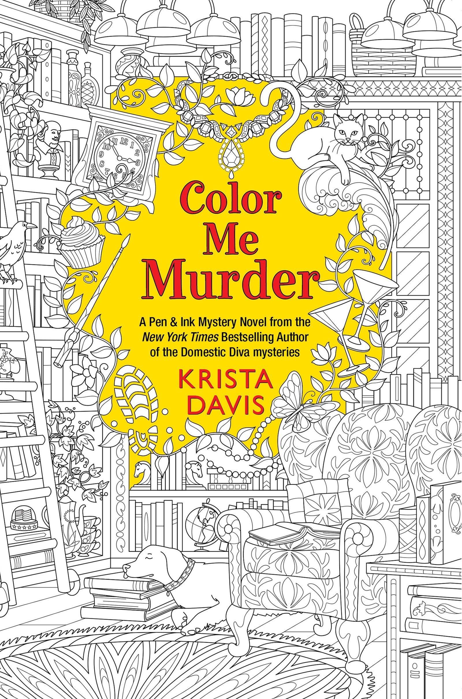 Amazon Color Me Murder Pen Ink 9781496716408 Krista Davis Books