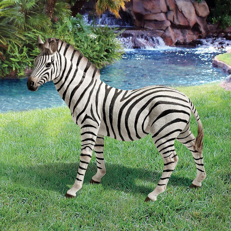 Amazon.com : Design Toscano Zora, The Zebra Statue : Patio, Lawn U0026 Garden