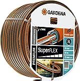 GARDENA Premium SuperFLEX Hose, 13 mm (1/2), 50 m: Garden hose with Power Grip Profile, 35 bar burst pressure, highly flexible, keeps its shape, UV resistant (18096-20)