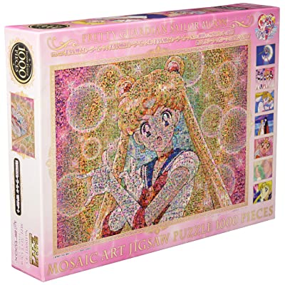 ensky Jigsaw Puzzle - Sailor Moon: Mosaic Art 1000pcs (1000T-43): Toys & Games