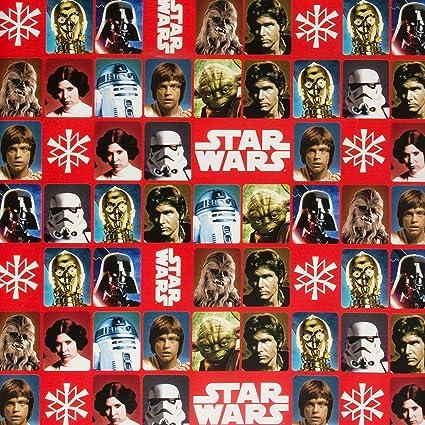 """Hallmark 4 m """"Classic Star Wars"""" Rolle Geschenkpapier"""