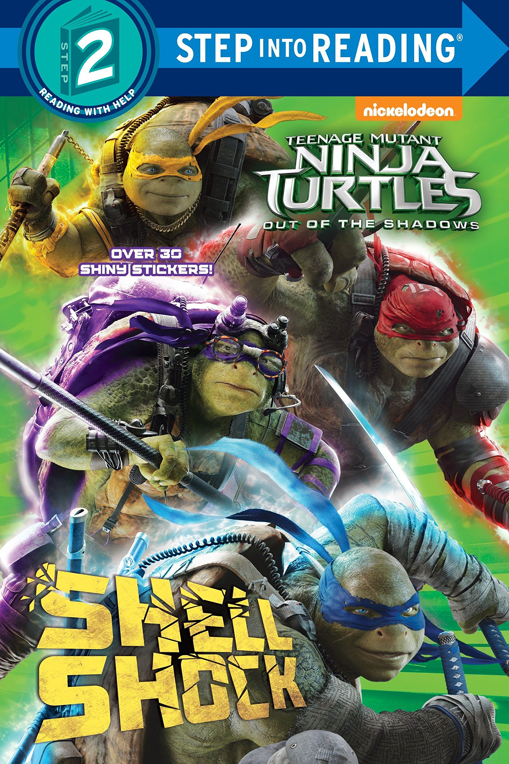 Amazon Com Teenage Mutant Ninja Turtles Out Of The Shadows Step Into Reading Teenage Mutant Ninja Turtles 9781101938553 Random House Villanelli Paolo Books