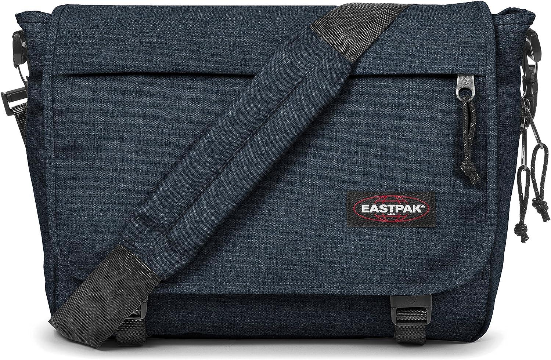 Triple Denim/ Bleu 38 cm Eastpak Delegate Sac bandouli/ère 20 liters