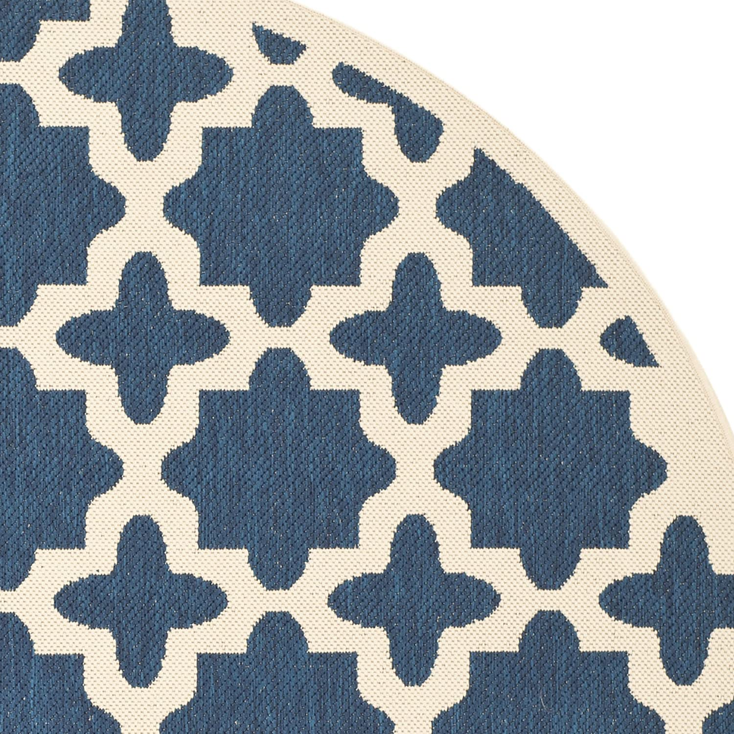 Safavieh Courtyard Collection CY6913-242 Brown and Bone Indoor// Outdoor Area Rug CY6913-242-3 27 x 5