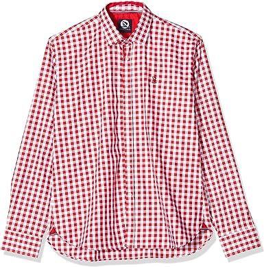 Giorgio Di Mare Camisa Hombre Rojo/Blanco 3XL: Amazon.es: Ropa y accesorios