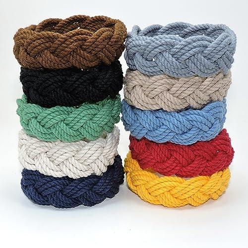 2f67199b44c Amazon.com  Original Mystic Sailor Knot Bracelet Nautical Colors ...