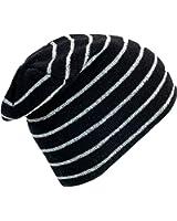 Turtle Fur Hi-Viz, High Visibility Reflective Knit Striped Neon Beanie
