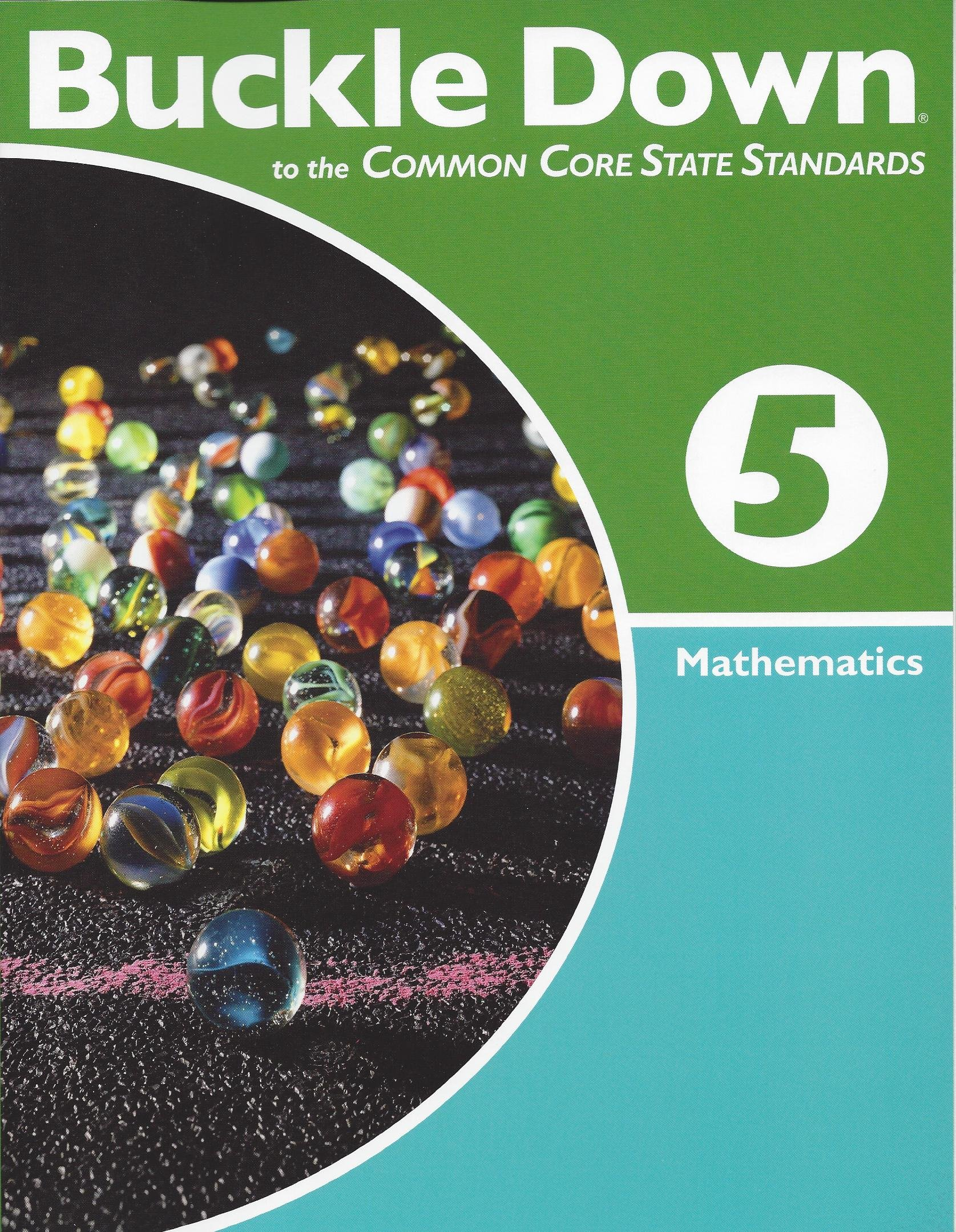 Amazon com: Buckle down on the Common Core State Standards