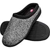 Hanes Men's Memory Foam Indoor Outdoor Clog Slipper Shoe with Fresh IQ