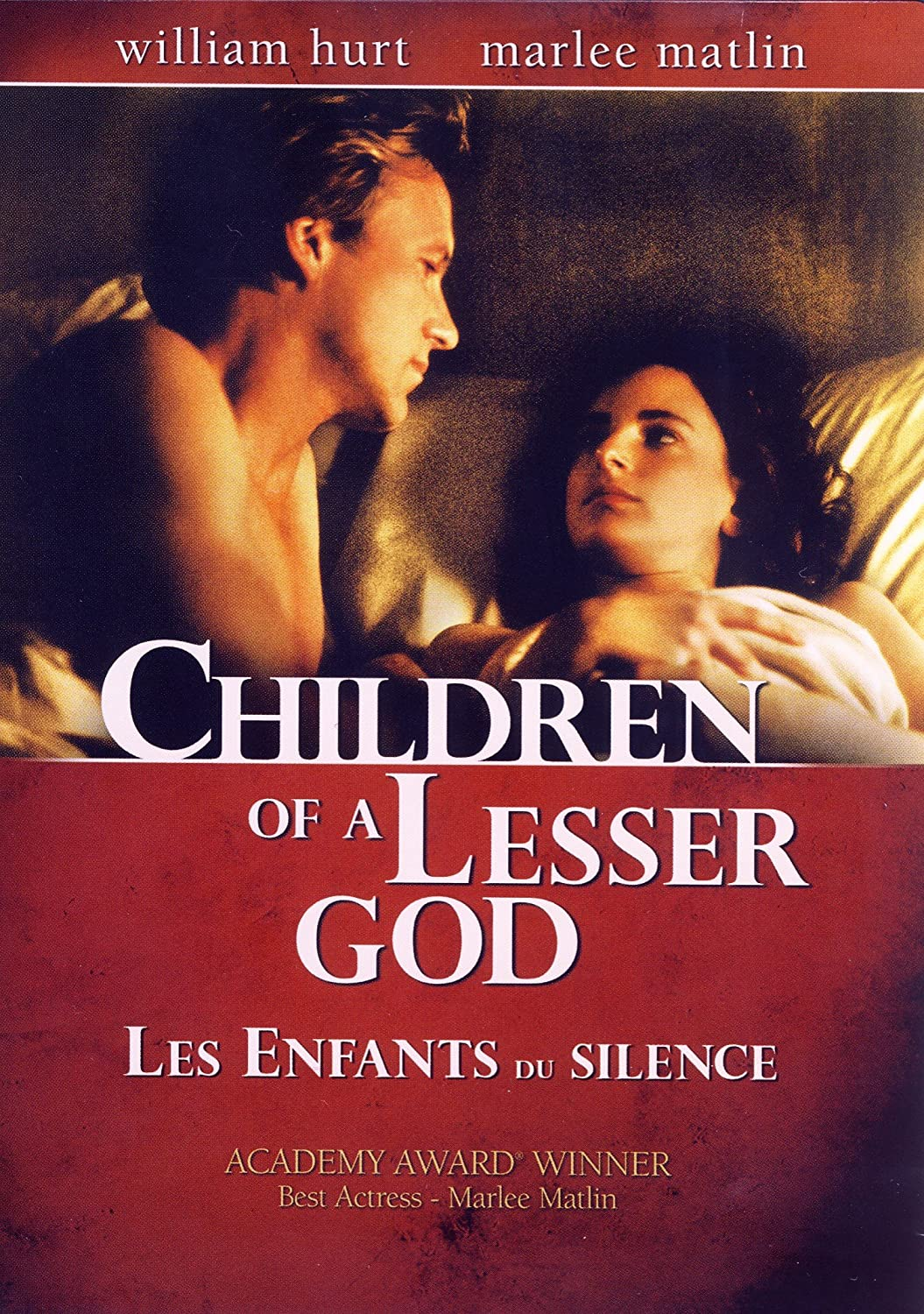an analysis of the movie children of a lesser god From sophocles to neil simon, stage plays deliver a powerful experience explore the drama, the history, and the merriment of both classic plays and lesser known gems.