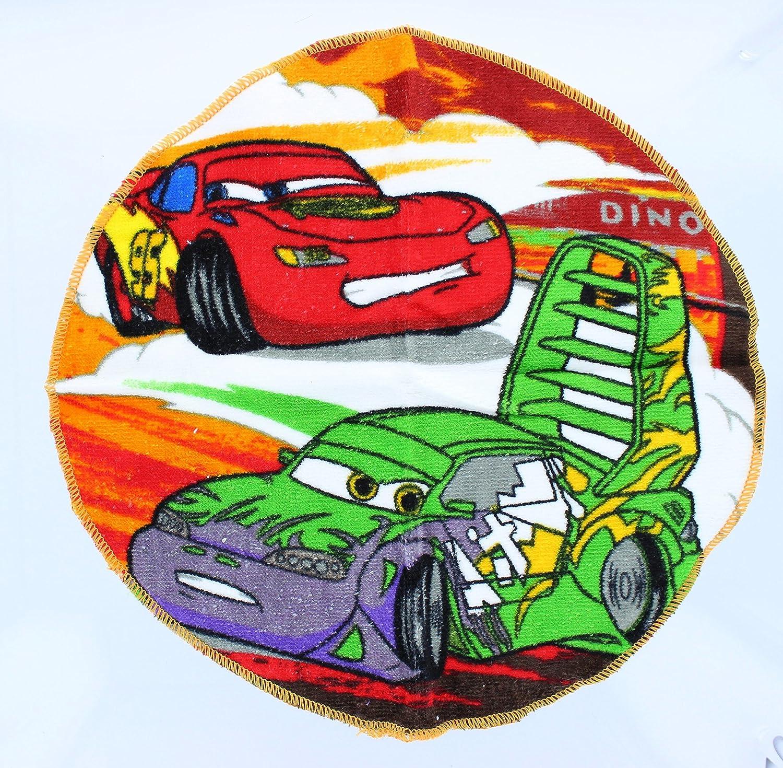 Disney Pixar Cars Lightning McQueen Mater McMissile Washcloth Bundle Set of 6