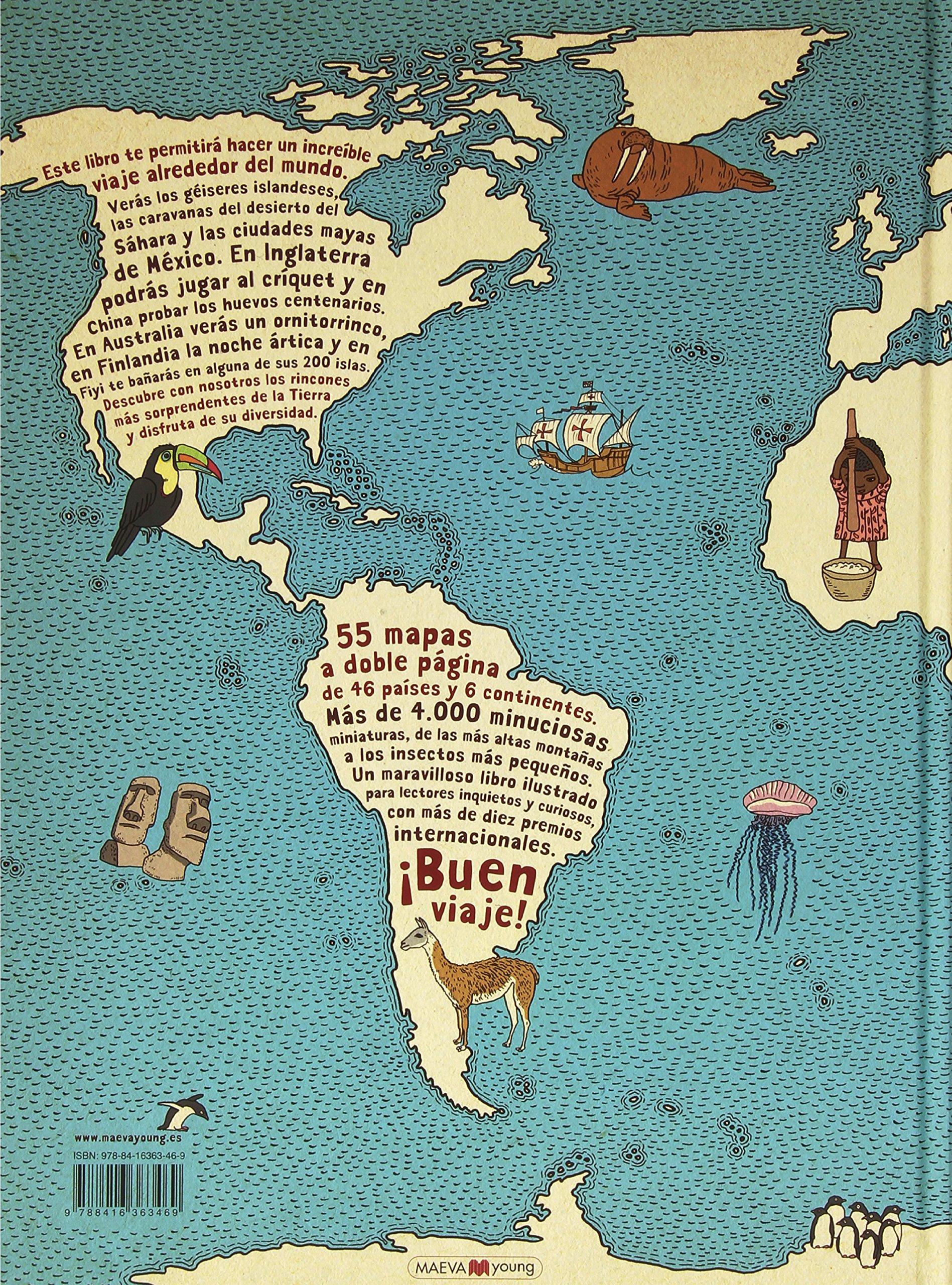 Atlas del mundo (Spanish Edition): Daniel, Mizieliriska, Aleksandra  Mizieliski, Maeva: 9788416363469: Amazon.com: Books