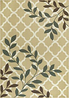 product image for Maples Rugs 7 x 10 Non Slip Large Area Rugs [Made in USA] for Living, Bedroom, and Dining Room, Neutral