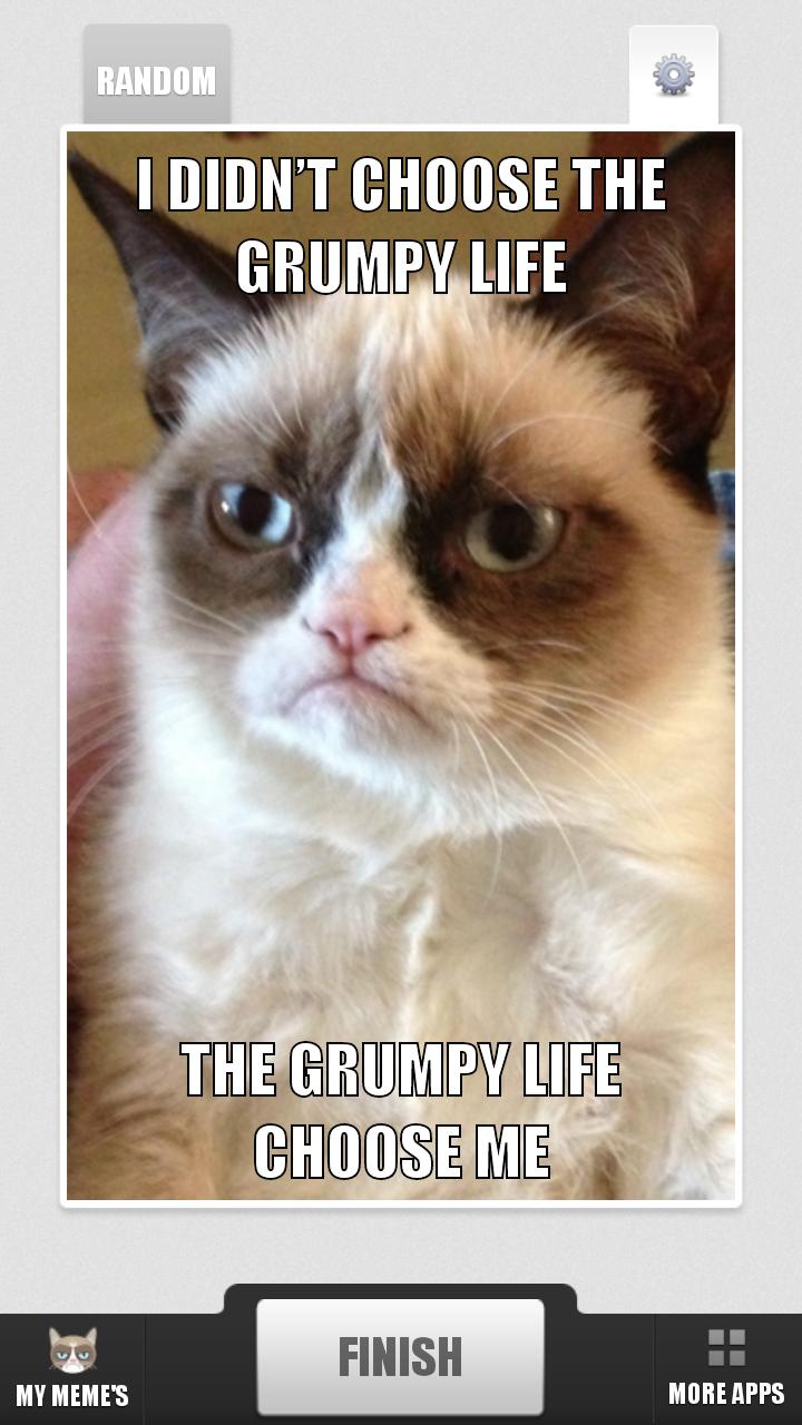 A1WLCk87Q3L amazon com grumpy cat meme generator appstore for android