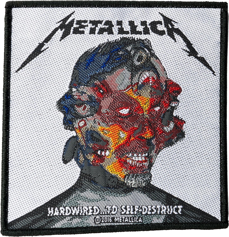 Hardwired Probity METALLICA To Self-Destruct Aufn/äher//Patch