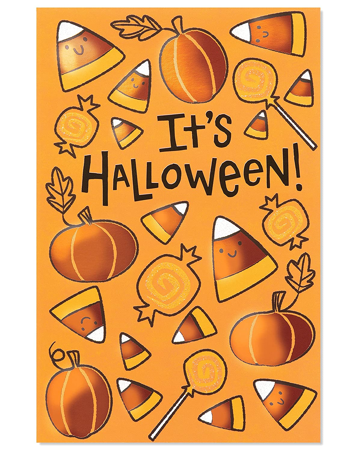 American Greetings Ghost Halloween Card with Foil, 6-Count 5883293
