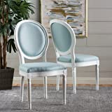 Hawthorne Light Blue Fabric Dining Chair (Set of 2)