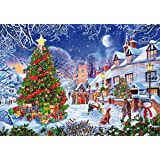 Wentworth Christmas Village 250 Piece Wooden Jigsaw Puzzle