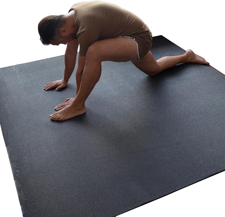 WideMat Esterilla de Yoga Pro Eco 183X183 cm. Antideslizante. Yoga con Libertad.: Amazon.es: Deportes y aire libre
