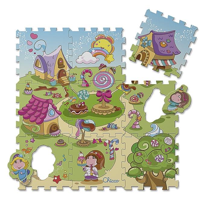 148 opinioni per Chicco 7164- Tappeto Puzzle, Caramelle