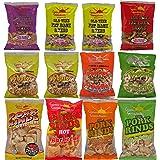 Low Carbohydrate Pork Rind Sampler 12 Pack
