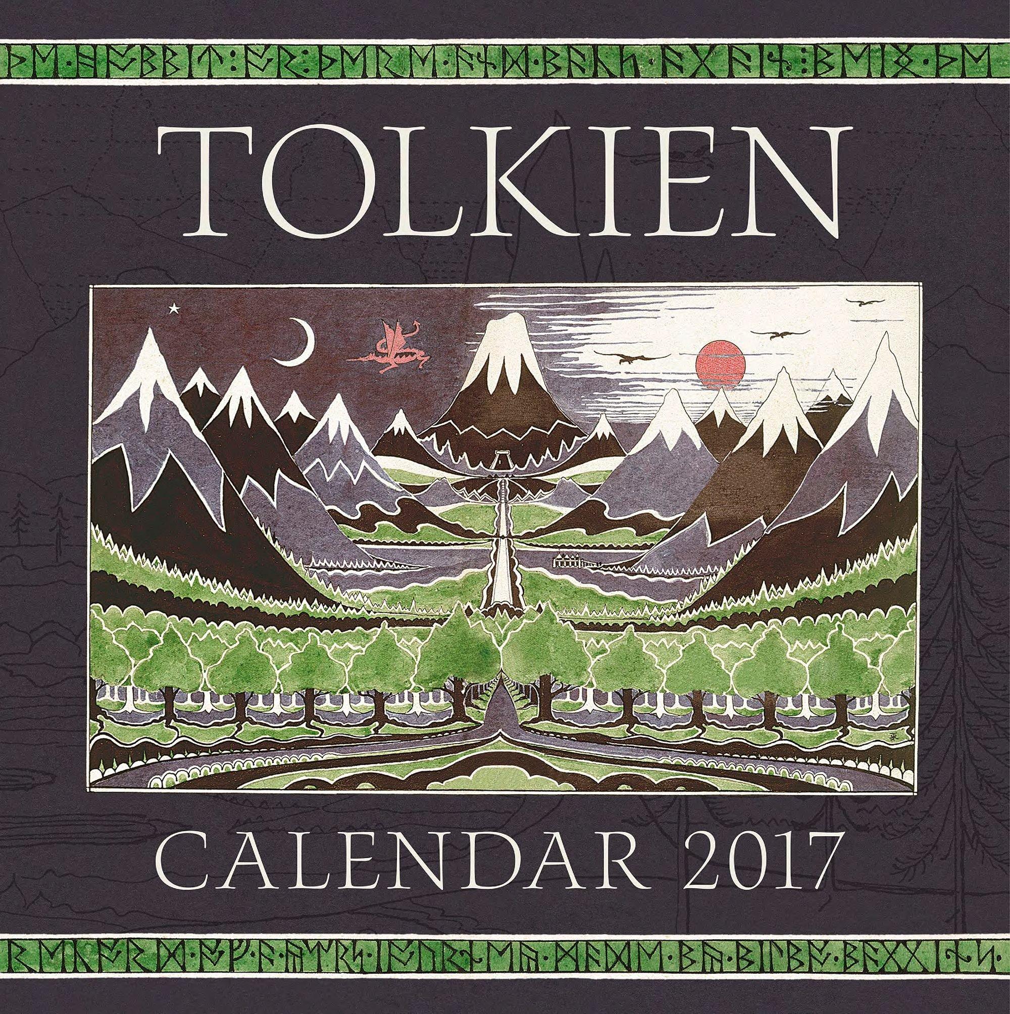 Calendario Tolkien 2017 (Biblioteca J. R. R. Tolkien ...