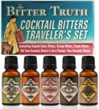 The Bitter Truth Travellers Tins  Miniatures,  5 x 2 cl