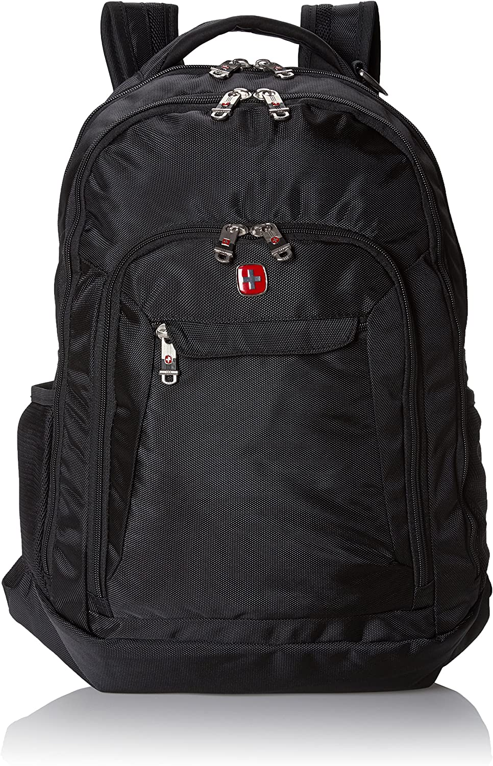 Swiss Gear SA9998 Black Laptop Backpack - Fits Most 15 Inch Laptops and Tablets