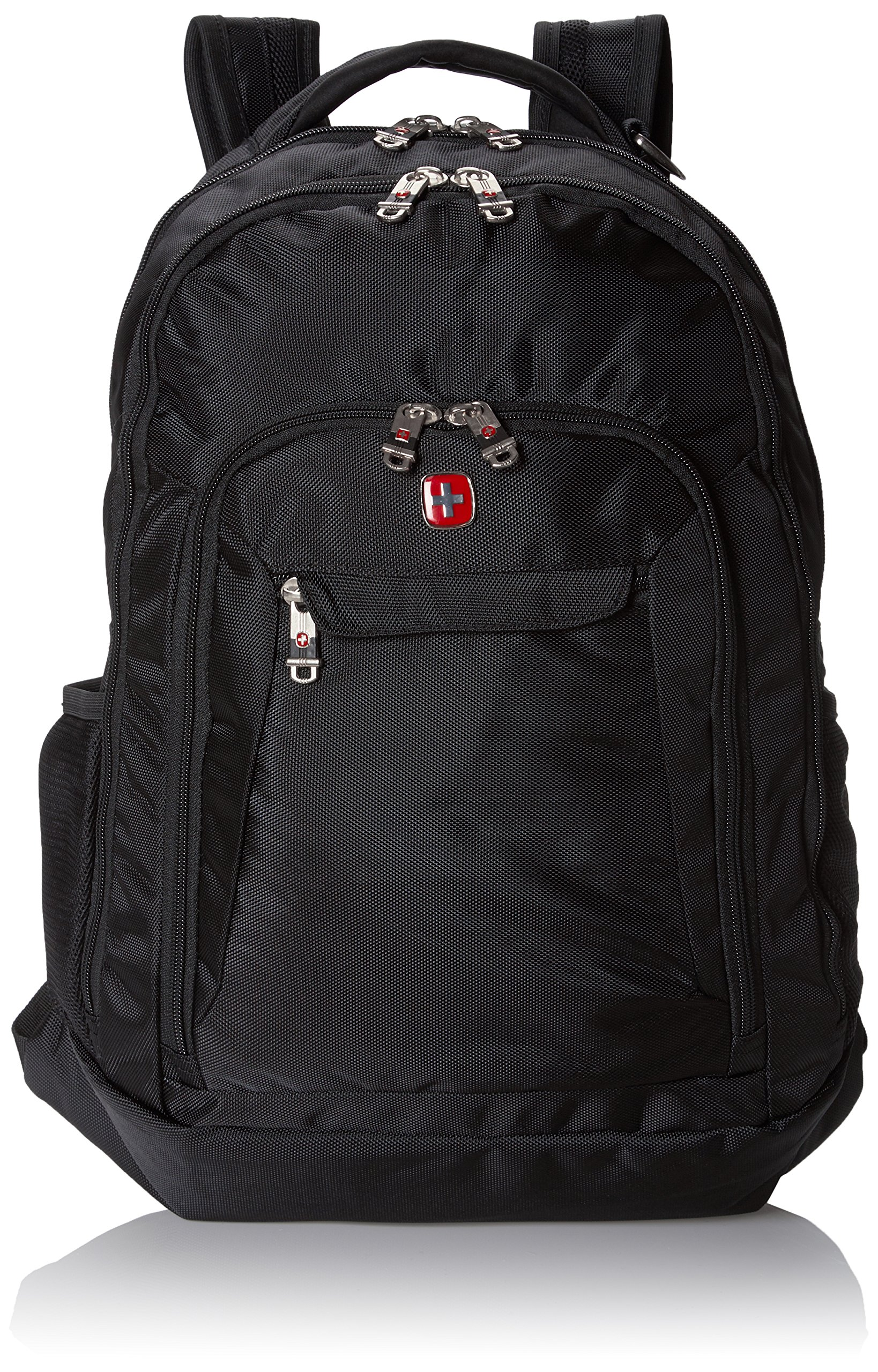 Swiss Gear SA9998 Black Laptop Backpack - Fits Most 15 Inch Laptops and Tablets by Swiss Gear