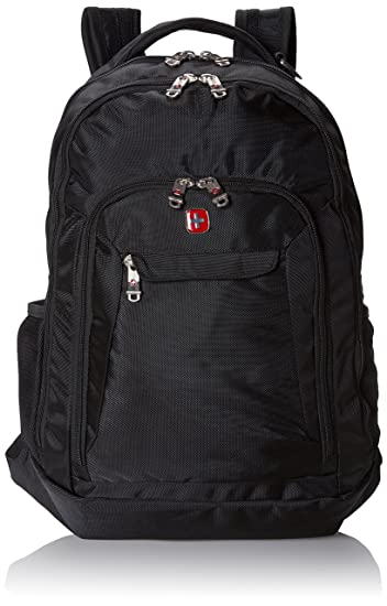 Amazon.com: Swiss Gear SA9998 Black Laptop Backpack - Fits Most 15 ...