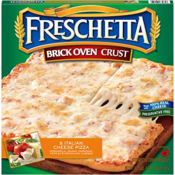 Freschetta 5 Italian Cheese Brick Oven Pizza 2028 Oz Frozen