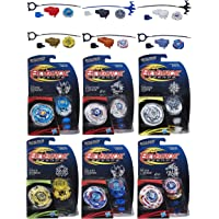 Gerneric Beyblade Legends Tops 6 Pack Bundle