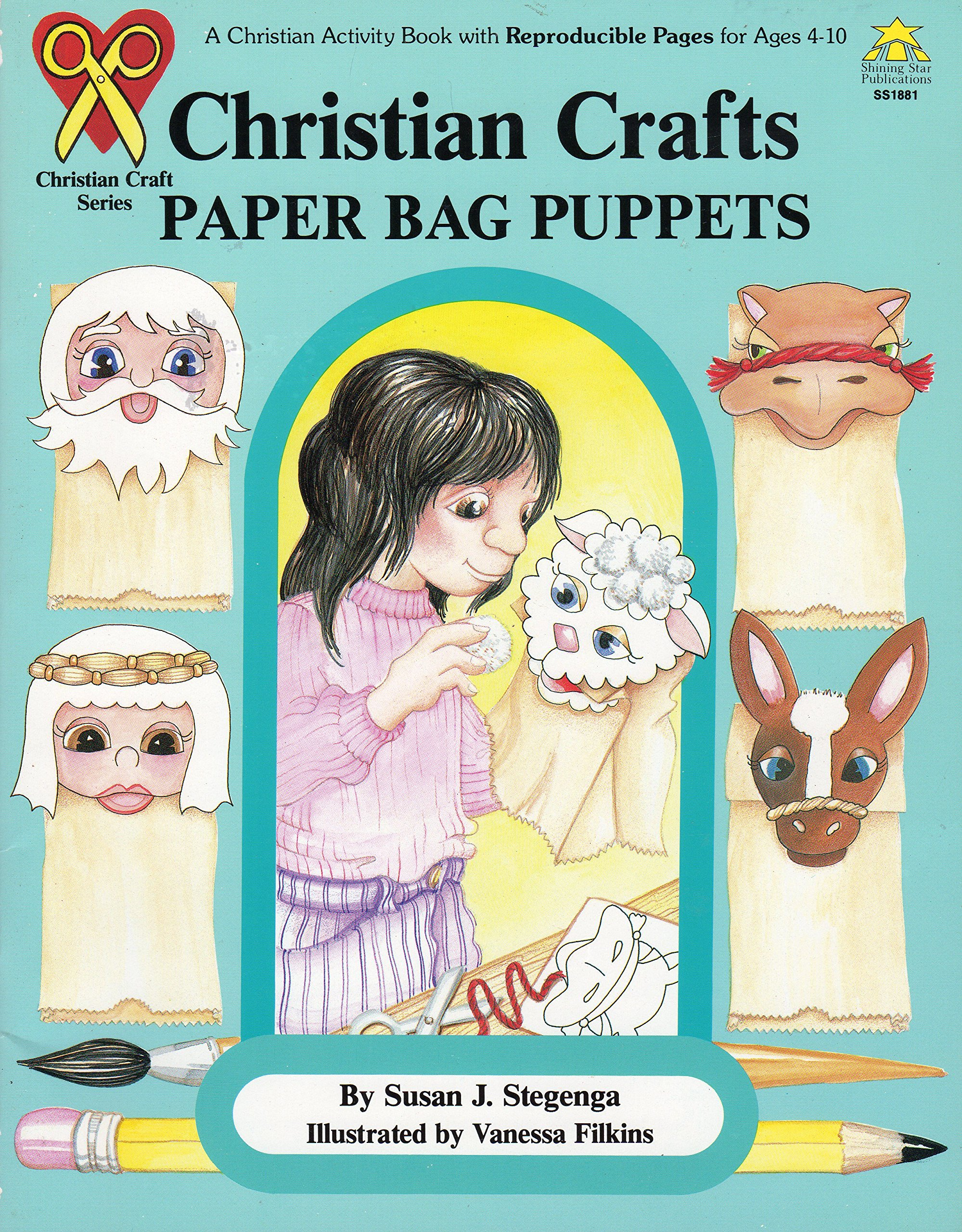 Christian Crafts - Paper Bag Puppets