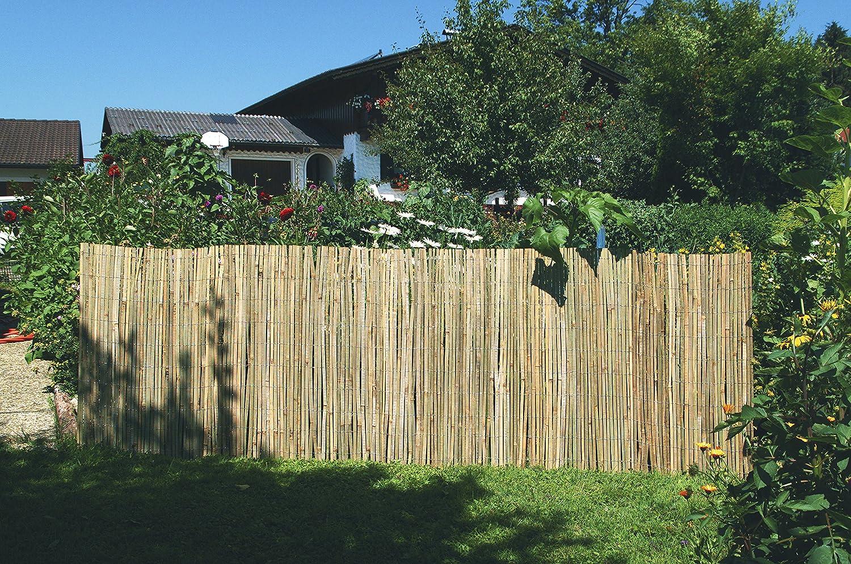 Windhager Sichtschutzmatte Bambus Bambusmatte Sichtschutz Zaun