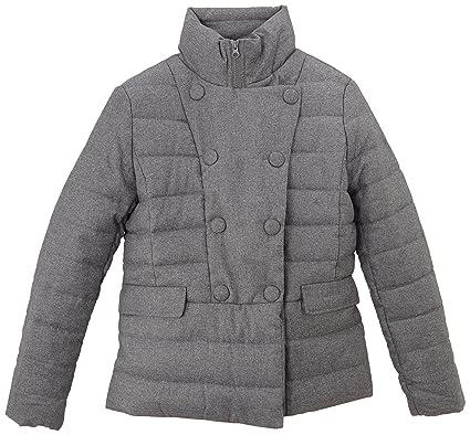 SoTeen - Abrigo para niña, color gris, talla 14 años (162