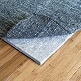 """RUGPADUSA, 7'x9', Ultra Black 27 - 1/3"""" Thick (FELT + RUBBER) Non-Slip Rug Pad, Available in 3 thicknesses, Adds Plush Cushion and Prevents Slipping, Safe for Hardwood and All Surfaces"""