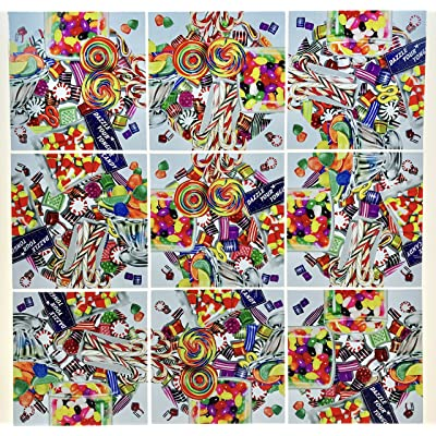Scramble Squares Candy 9 Piece Challenging Puzzle - Ultimate Brain Teaser and Mind Game for Young and Senior Alike - Engaging and Creative With Beautiful Artwork - By B.Dazzle: Toys & Games