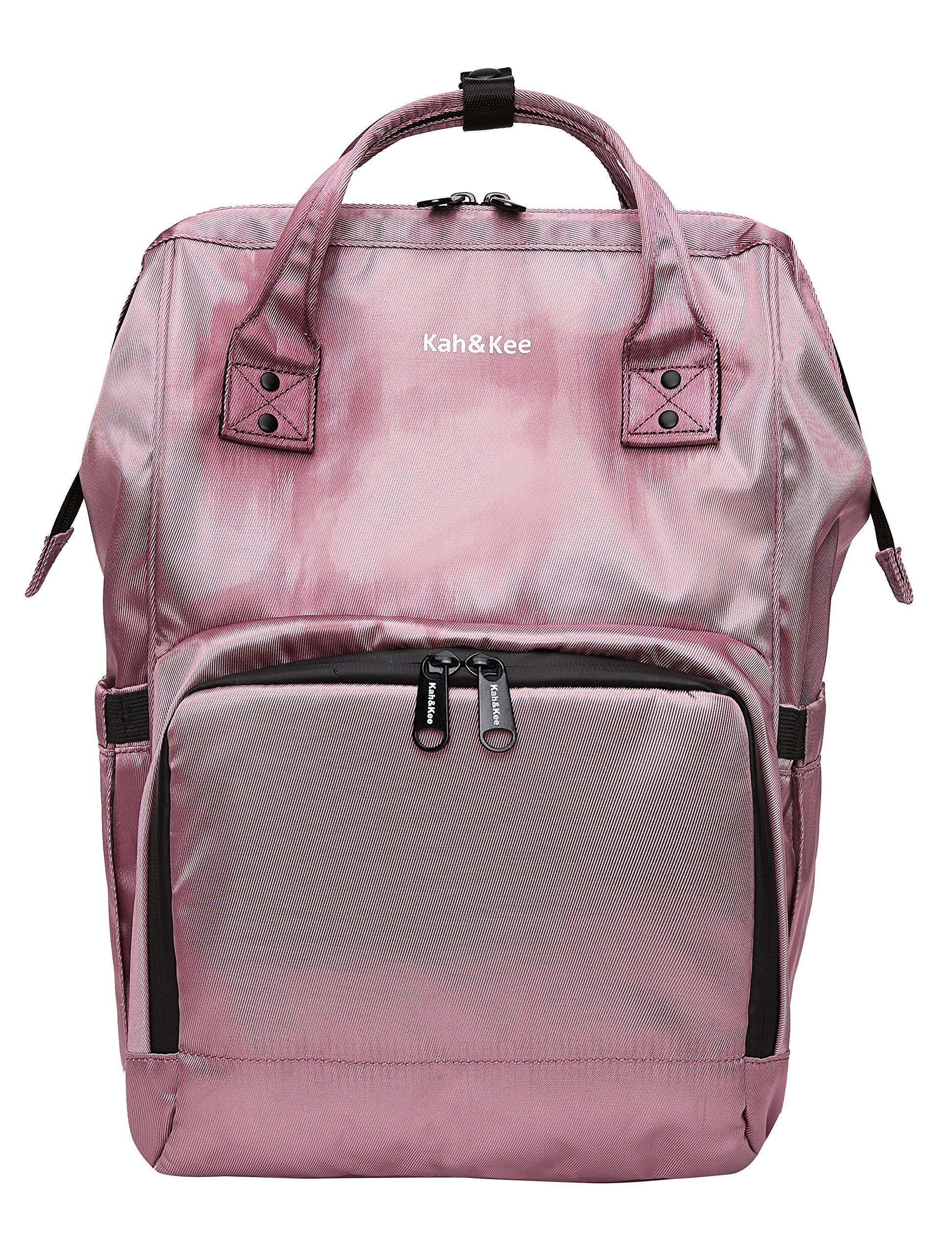 Kah&Kee Diaper Bag Backpack Organizer Waterproof Multifunction Anti-theft Travel Bags for Boys/Girls (Purple)