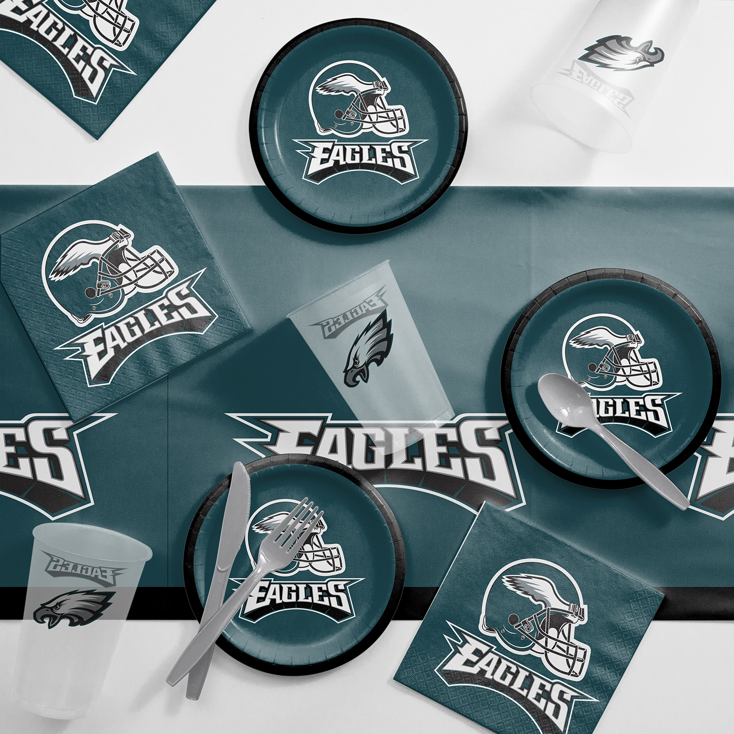 Amazon Com Philadelphia Eagles Game Day Party Supplies