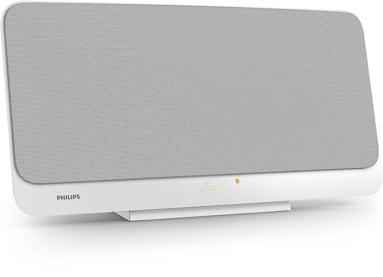 Philips Microcadena Home audio micro system Color blanco discos Slot disc loader