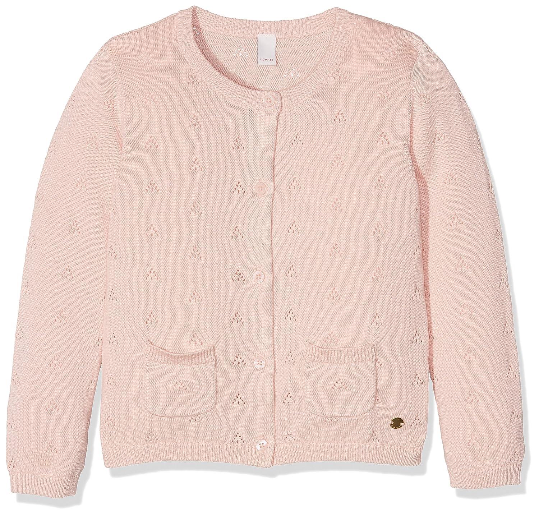 ESPRIT Kids Girl's Foleil Cardigan Pink (Rosewood) 2-3 Years (Size:92+) RJ18033