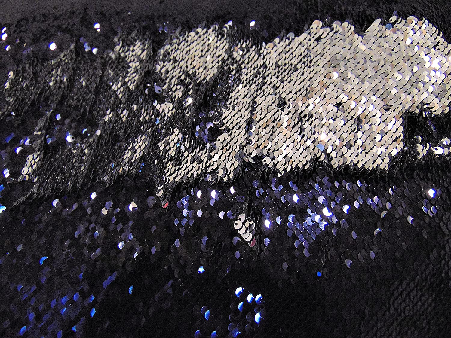 """Red on Gold Little Sequins Roll Over Mirage 2-Way Stretch 52/"""" Wide dress fabric"""