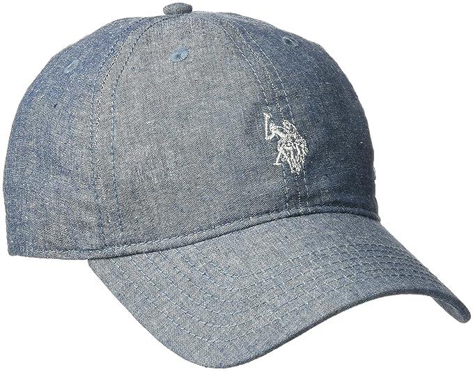 U.S. Polo Assn.. - Gorra de béisbol de Sarga de algodón para Mujer ... 990ec1982e8