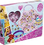 Disney princess bracelet making kit | Create your own Disney bracelet from Disney princess: Beauty and Beast, Cinderella, Ariel, Rapunzel | Ideal art set for party activities