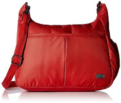 daca44f59d74 Pacsafe Women s Daysafe Anti-Theft Crossbody Bag Baked Apple One Size
