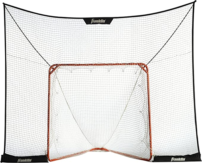 Franklin Sports Lacrosse Goal Backstop - Great Quality for the Price