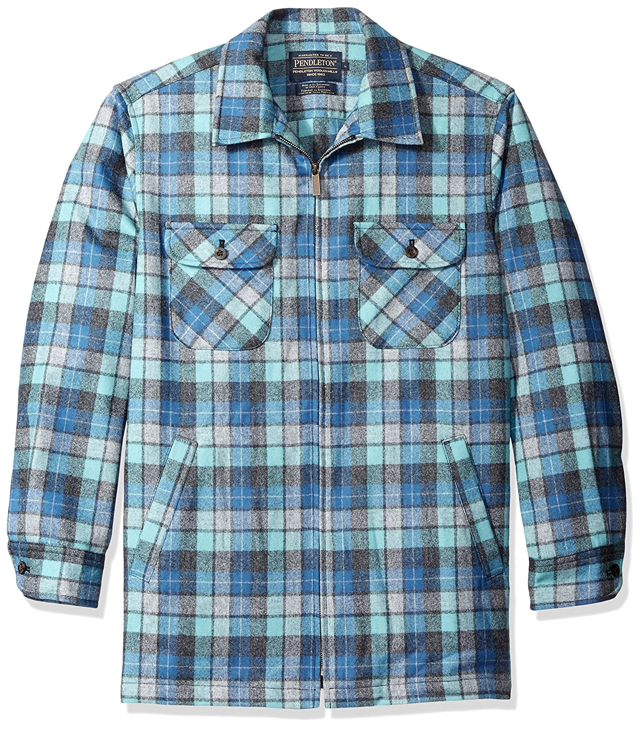 Pendleton SHIRT メンズ B01M7OWL8R L|Blue/Green Original Surf Plaid Blue/Green Original Surf Plaid L