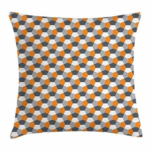 Abstracto Throw Pillow Cojín por Ambesonne, moderno estilo ...