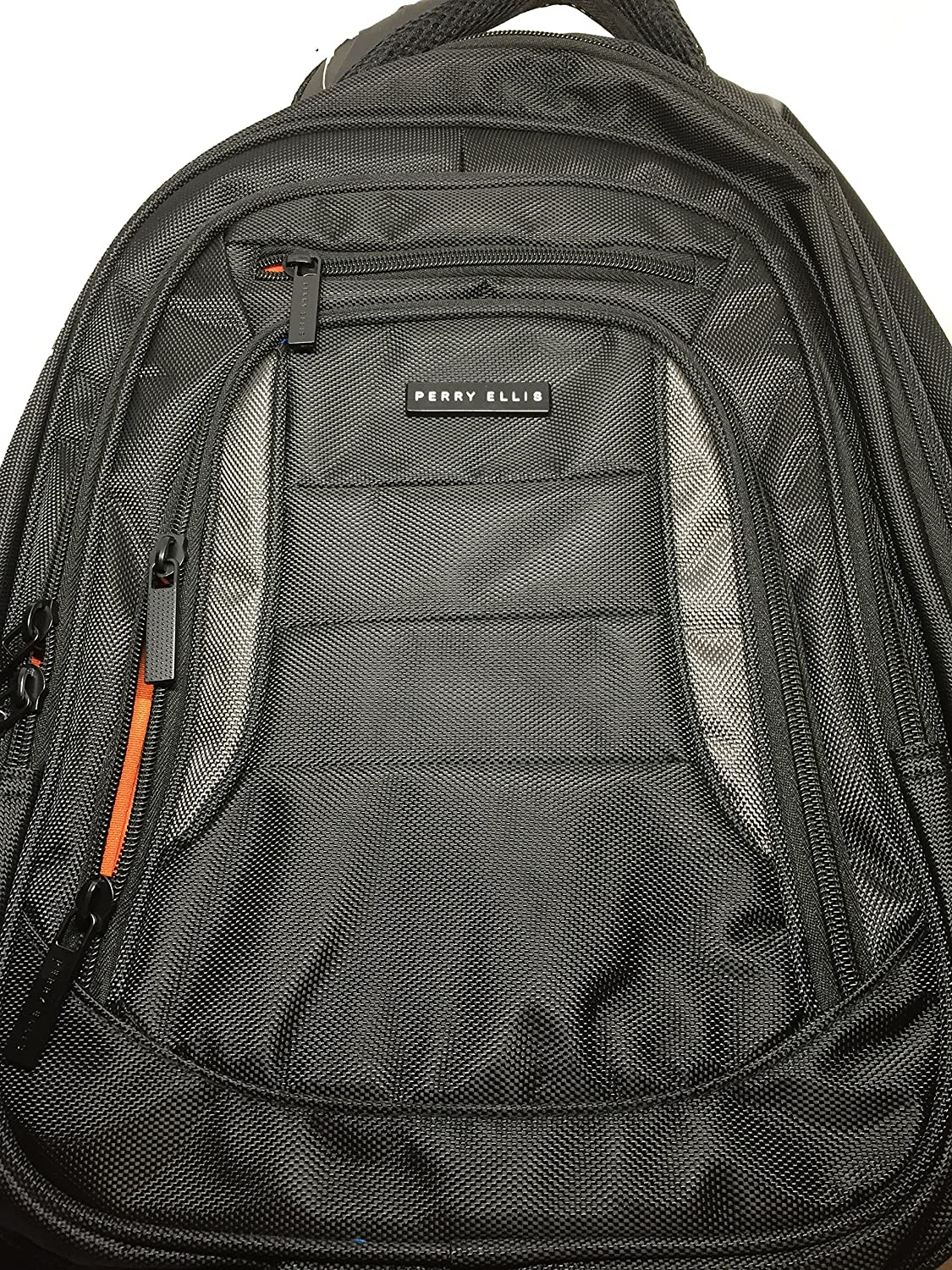 b491e015f4ac Amazon.com: Perry Ellis Laptop Backpack P11: Computers & Accessories